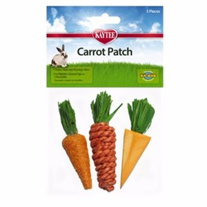 KAYTEE CHEW CARROT PATCH PQT 3