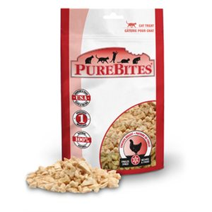 PUREBITES CHAT POITRINE POULET SECHEE A FROID 31GR