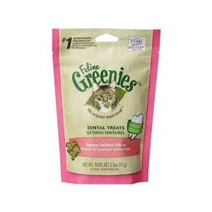 GÂTERIES GREENIES SAUMON 71GR - CHAT