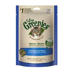 GREENIES DENTAIRES POUR CHAT THON 71GR