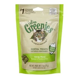 GREENIES DENTAIRES HERBE À CHAT 71GR