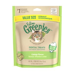 GREENIES DENTAIRES HERBE À CHAT 156GR