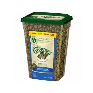GREENIES DENTAIRES CHAT THON FORMAT GÉANT 312GR
