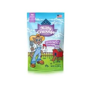 BLUE KITTY CRAVINGS  GATERIES POULET POUR CHAT 2OZ
