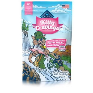 BLUE KITTY CRAVINGS  GATERIES SAUMON POUR CHAT 2OZ