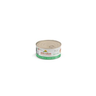 ALMO NATURE HQS NATURAL CHAT DINDE GRILLEE EN BOUILLON 70GR