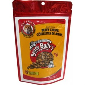Beefy chops Benny Bully's 15 gr for cats