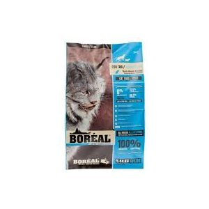 BOREAL CHAT SANS GRAINS TRIO DE POISSON 5,44KG