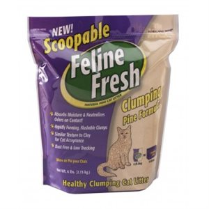 Feline Fresh - Pine cat litter - 2,73 Kg