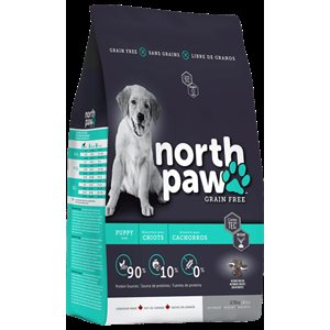 NORTH PAW SANS GRAINS CHIOT 2,72KG