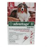 ADVANTAGE II GRAND CHIEN 6PQT 11-25KG