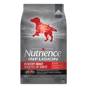 NUTRIENCE INFUSION CHIENS ADULTES BOEUF 10KG