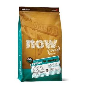 PETCUREAN NOW CHIEN SENIOR GRANDE RACE SG 12LB
